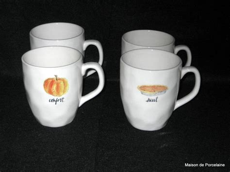 rae dunn mugs 4 rae dunn magenta inc autumn thanksgiving gather harvest
