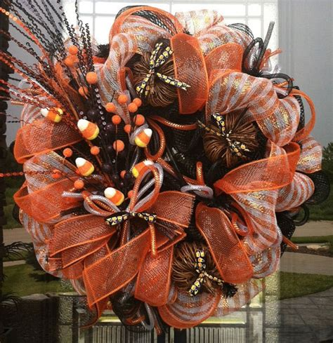 Decorating Ideas For Wreaths Autumn Decor Front Door Wreaths Fall
