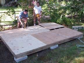 Build A Floor For A Shed by How To Build A Shed All About Shed And Shed Plans