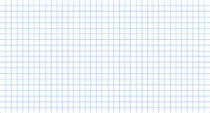 large grid paper letter format mail