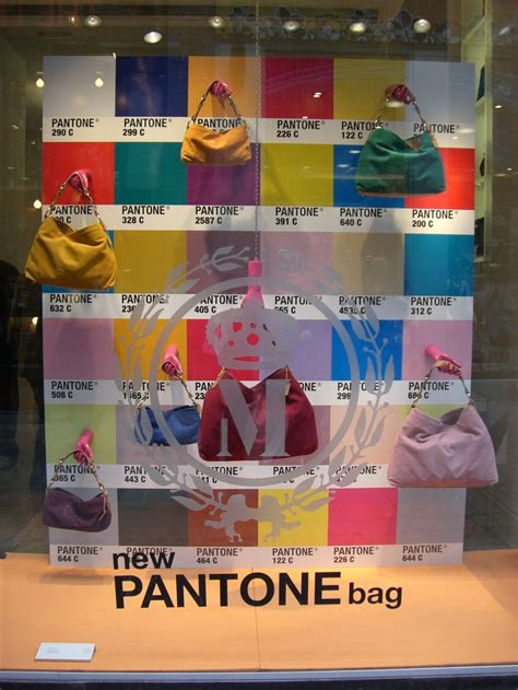 color wheel for visual merchandising the window lane pantone bags window display visual merchandising