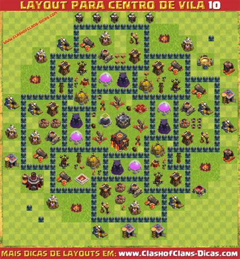 layout atualizado cv 7 layouts para cv10 em clash of clans clash of clans dicas