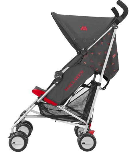 maclaren triumph recline maclaren triumph stroller charcoal scarlet