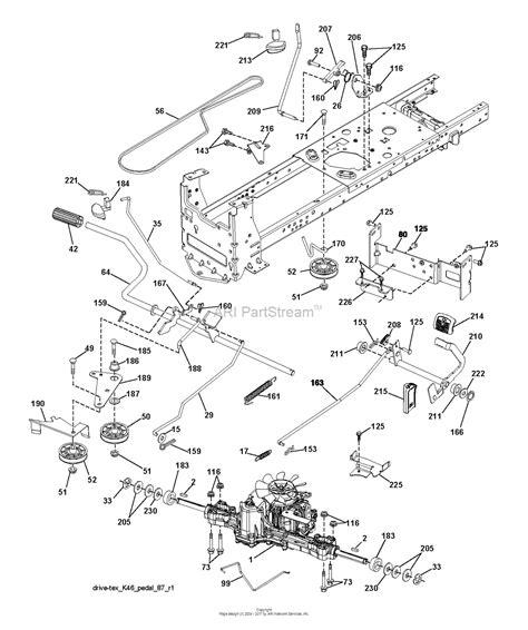 husqvarna mower parts diagram carburetor husqvarna yth20k46 parts carburetor tractor
