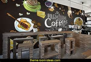 Restaurant Wall Murals Decorating Theme Bedrooms Maries Manor Cafe Kitchen