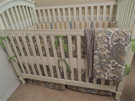 paisley summer baby bedding set babylovin