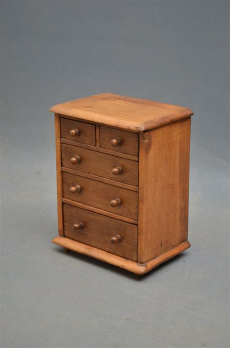 Antique Miniature Chest Of Drawers by Miniature Chest Of Drawers Antiques Atlas