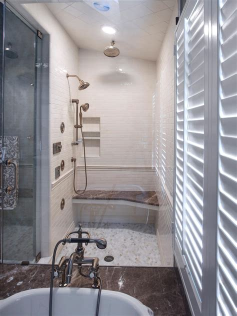 bathroom designs with shower and tub dreamy tubs and showers bathroom ideas designs hgtv
