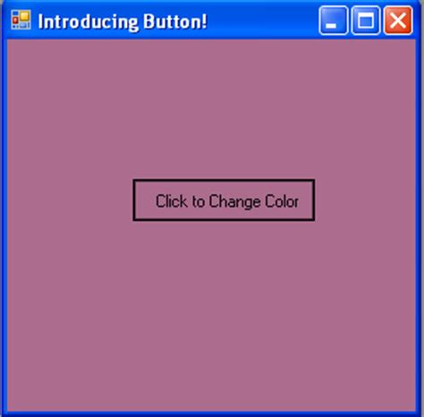 button background color how to change the background color of a form in a button