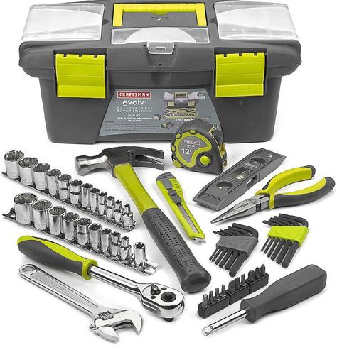 new craftsman evolv 52 tool set total home repair