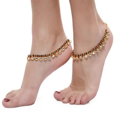 Pretty Anklets by Shinningdiva Pretty Pair Of Anklet Buy Shinningdiva