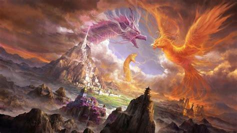 phoenix bird wallpaper hd pixelstalknet