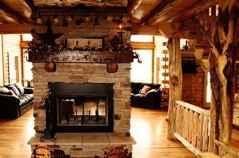 Log Home Fireplaces by Log Home Fireplace Home Decor Log Cabins
