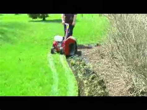 ez trench bed edger bed edger youtube