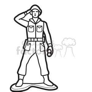 Soldier Drawing Outline by Royalty Free Outline Of Soldier Illustration Graphic 398051 Vector Clip Image Eps Svg