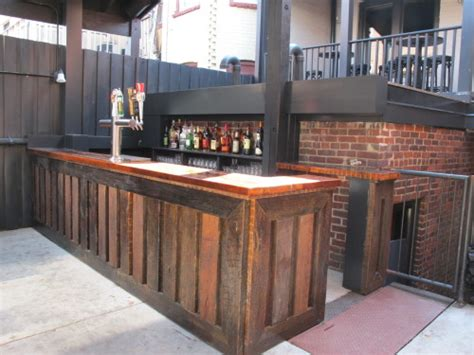 The Patio Bar by Chez Billy S Back Patio Gets A New Bar Opens This Sunday