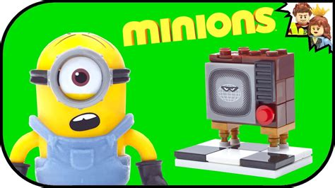 Mega Bloks Minions Silly Tv minions silly tv mega bloks review