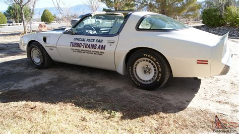 turbo pontiac trans  firebird indy pace car