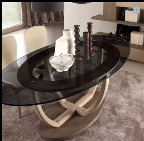 tavolo cristallo ovale tavolo ovale in cristallo con sedie in ecopelle signorini