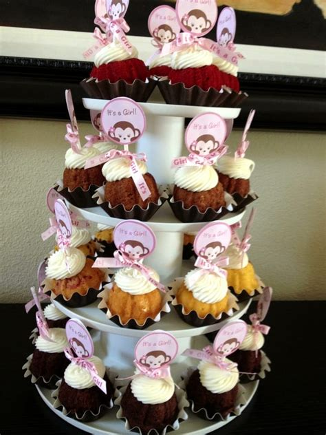 Nothing Bundt Cakes Baby Shower by Bundtinis For Baby Shower Delicious Yelp