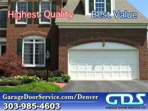 Gds Garage Door Service Gds Garage Door Service Overhead Doors Denver Co