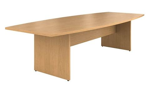 Hon Conference Table Hon Preside Series Boat Shape Laminate Conference Tables School Office Direct