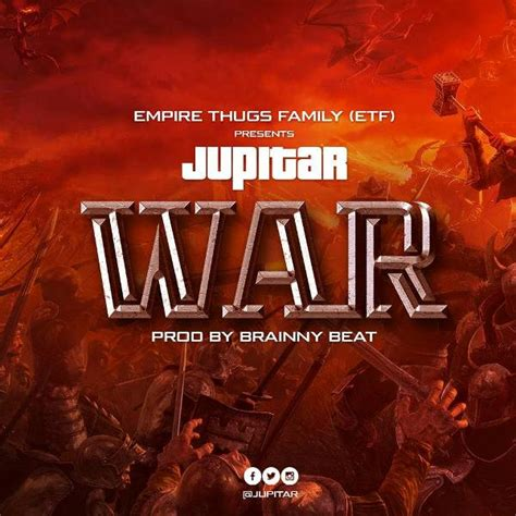 jupitar war stonebwoy diss prod  brainy beatz
