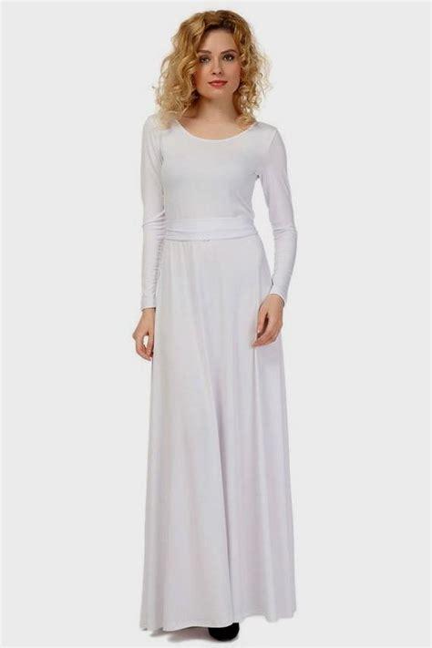 Sleeve Floor Length Dresses by White Sleeve Floor Length Dress Naf Dresses