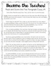 Our Teachers Essay by Tips For Teaching And Grading Five Paragraph Essays