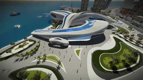 Floor Plan Design Autocad by Mahmoud El Shamy Graduation Project Hurghada Aquarium