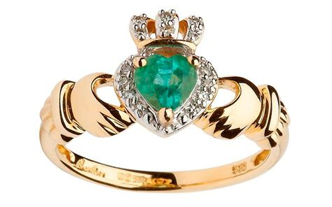 gorgeous claddagh rings for s day