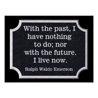 printable ralph waldo emerson quotes do nothing posters zazzle