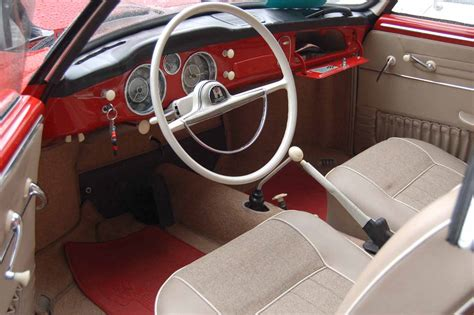 karmann ghia upholstery awesome interior in 1959 volkswagen karmann ghia coupe