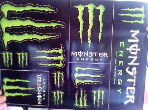 Monster Energy Aufkleber Kostenlos by Free Monster Energy Stickers Other Car Items Listia