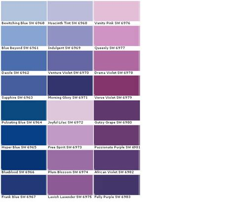 colors that look good with purple will ai take creative jobs judging by these paint names