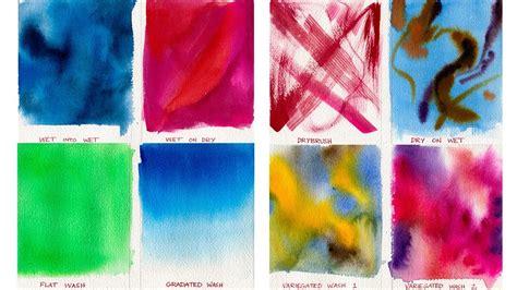 watercolor painting lessons wash techniques
