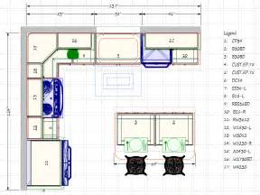 Typical Kitchen Island Dimensions kitchen floor plans casual cottage