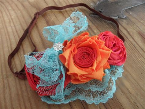 Handmade Headband Ideas - handmade headband patterns and fabric flowers handmade