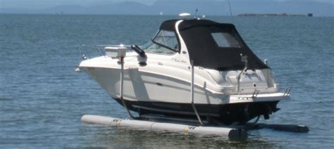 floating boat lift prices 10 500 lb sunstream floatlift 10014d paradise dock