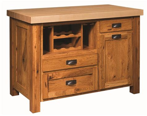 mission kitchen island classic mission kitchen island with butcher block top