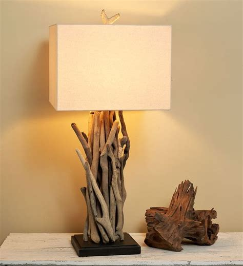 driftwood ls coastal lighting l bases driftwood ideas and nature on pinterest