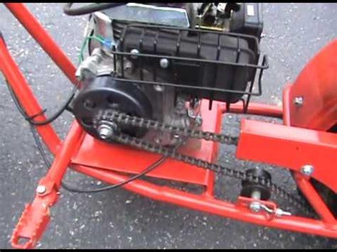 doodlebug governor removal baja doodle bug minibike clutch maintanence
