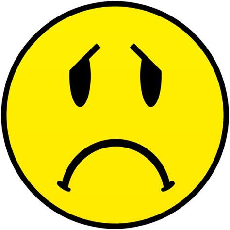 sad clipart unhappy smiley clipart clipground