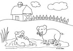 color farm free farm animal coloring pages az coloring pages