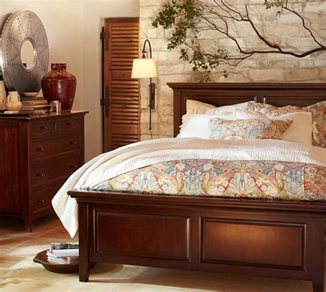 pottery barn bedroom set hudson bed dresser set pottery barn