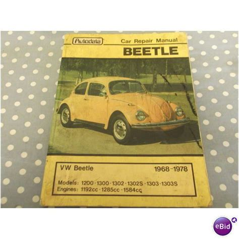 what is the best auto repair manual 1978 chevrolet corvette parental controls vw beetle 1968 to 1978 autodata car repair manual on ebid united kingdom