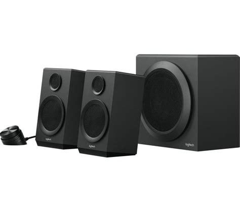 Logitech Speaker Z337 buy logitech z337 2 1 wireless pc speakers black free delivery currys
