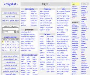 Craigs List Appartments by Craigslist Jp Craigslist Tokyo Classifieds For