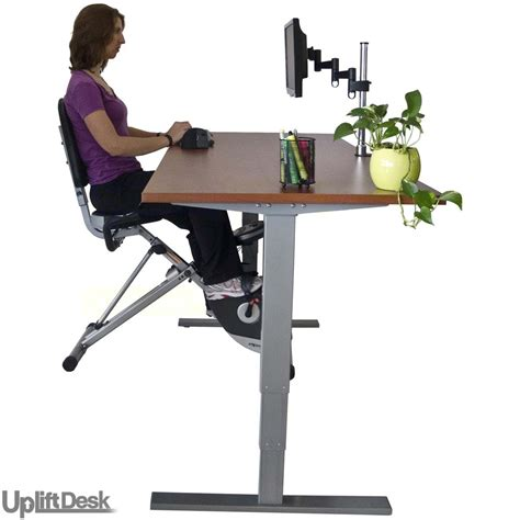 the human solution uplift desk uplift height adjustable bike desk shop uplift bike desks
