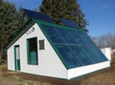 Home Depot House Plans solar thermal greenhouse prototype for cold climates